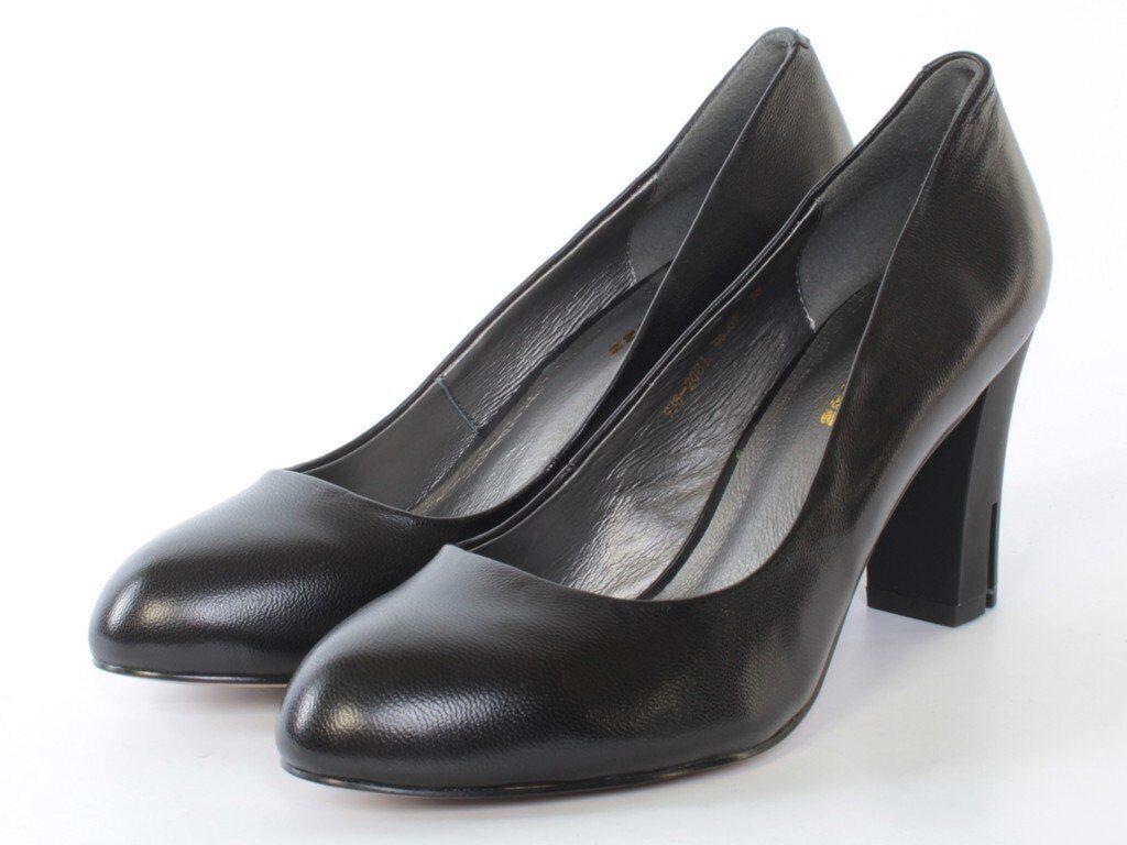 938-20B1 M630P BLACK Туфли женские (натуральная кожа) размер 35 e2ba7b8a96d